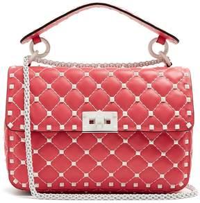 Valentino Rockstud Spike medium quilted-leather shoulder bag