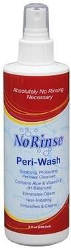 No Rinse Peri-Wash Perineal Cleanser Spray