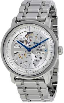 Rado Diamaster XL Grey Skeleton Dial Ceramic Men's Watch