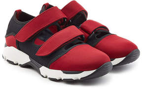 Marni Fabric Sneakers with Cutouts