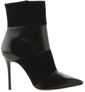 Roberto Festa Women's Cameron Leather and Suede Stiletto Ankle Boot