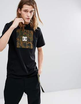 DC T-Shirt With Camo Box Logo