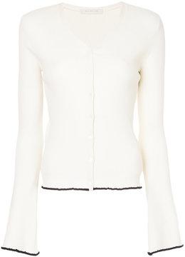ESTNATION V-neck button up cardigan