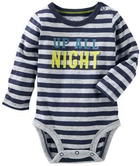 Osh Kosh Baby Boy Up All Night Graphic Nep Bodysuit