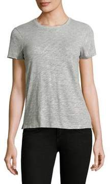 ATM Anthony Thomas Melillo Schoolboy Metallic Cotton Tee