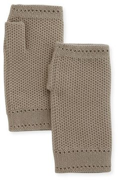 Loro Piana Rougemont Cashmere Fingerless Gloves