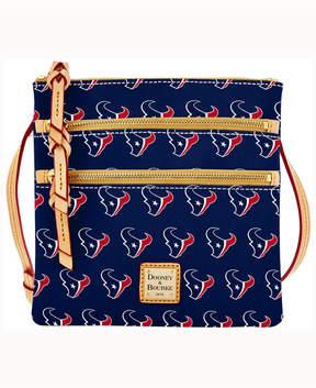 Dooney & Bourke Houston Texans Triple-Zip Crossbody Bag