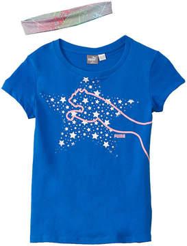 Puma Girls' Graphic T-Shirt