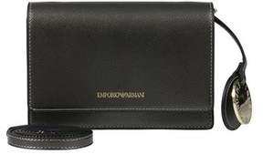 Emporio Armani Y3b086 Yh15a 86539 Steel Clutch Handbag.