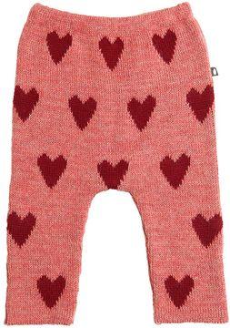 Oeuf Hearts Baby Alpaca Tricot Pants