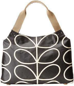 Orla Kiely Classic Zip Shoulder Bag Shoulder Handbags