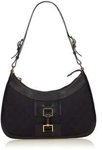 Gucci Pre-owned: Jacquard Shoulder Bag. - BLACK - STYLE