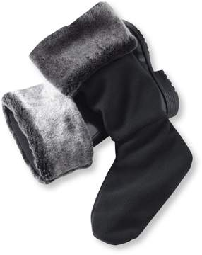 L.L. Bean L.L.Bean Wellie Warmers, Faux Fur Mid