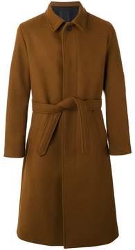 Ami Alexandre Mattiussi long belted coat