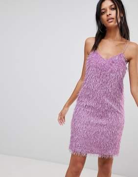 Noisy May Cami Dress With Fringing