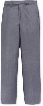 Calvin Klein Fine Line Twill Suiting Pants, Big Boys Husky (8-20)