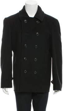 Marc Jacobs Wool Double-Breasted Peacoat