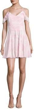 Amanda Uprichard Women's Tate Cold Shoulder Dress
