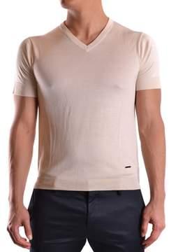 CNC Costume National Men's Beige Silk Jumper.