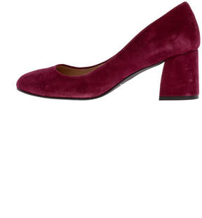 French Sole Trance Suede Pump