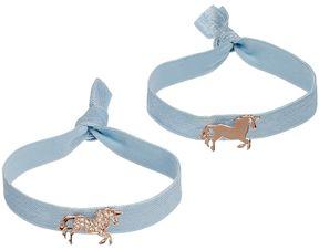 Lauren Conrad Runway Collection Unicorn Hair Tie Set