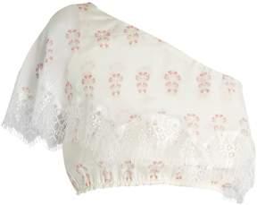 Athena PROCOPIOU Summer Morning silk top