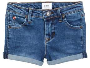 Hudson 2 1/2 Roll Shorts (Toddler Girls)