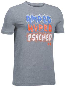 Under Armour Boys 8-20 Amped Hyped Tee