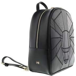 Roberto Cavalli Backpack Elisabeth 004 Black Backpack.