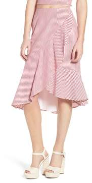 WAYF Naples Ruffle Skirt