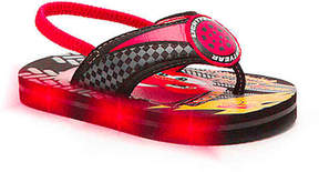 Disney Boys Cars Lightning McQueen Toddler Light-Up Sandal
