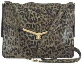 Botkier Brown & Black Leopard Print Valentina Bag