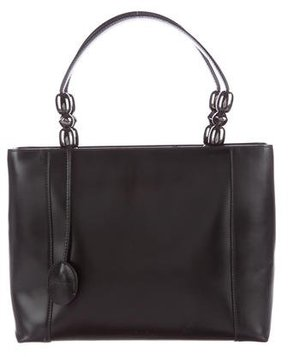 Christian Dior Smooth Leather Malice Satchel