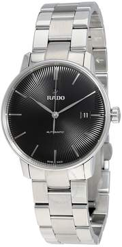 Rado Coupole Classic Automatic Black Dial Stainless Steel Unisex Watch
