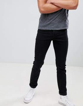 New Look Slim Jeans In Black Wash