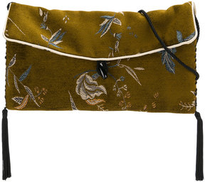 Forte Forte floral brocade print bag