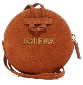 Jacquemus Le Pitchou Suede Coin Purse - Womens - Brown