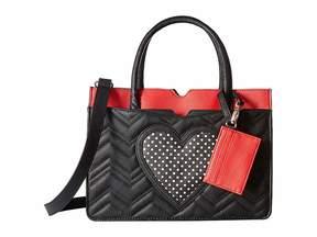 Betsey Johnson Multi Pocket Satchel Satchel Handbags