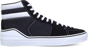 Givenchy George V suede high-top trainers