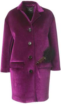 Compagnia Italiana Velvet Neoprene Coats