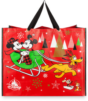 Disney Mickey Mouse and Friends Reusable Holiday Tote - Extra Large