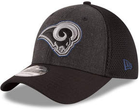 New Era Los Angeles Rams Black Heather Neo 39THIRTY Cap