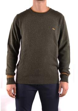Harmont & Blaine Men's Green Wool Sweater.