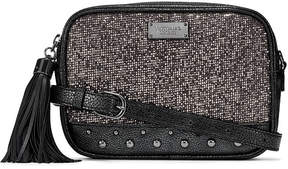 Victoria's Secret Victorias Secret Glitter Mesh Convertible City Crossbody Belt Bag