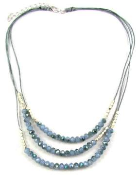 Ananda Blue Crystal Necklace