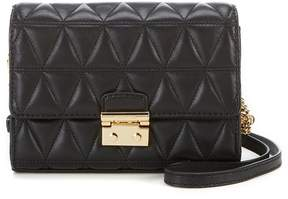 MICHAEL Michael Kors Ruby Quilted Clutch - BLACK - STYLE