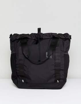 Herschel Herchel Barnes Black Utilitary Nylon Shopper Bag