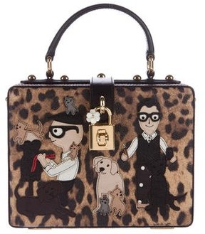 Dolce & Gabbana 2016 Family Box Bag - ANIMAL PRINT - STYLE