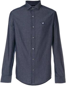 Armani Jeans logo patch shirt
