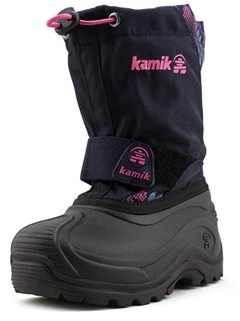 Kamik Snowbound Round Toe Synthetic Snow Boot.